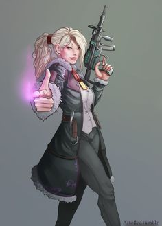 another Shadowrun request. Left this one for way too long. Female Character Concept, Character Art, Science Fiction, Cyberpunk Rpg, Future People, Sci Fi Characters, Women Characters, Cool Poses, Star Wars