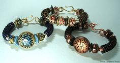 Coiled Bangle by Sandra Lupo