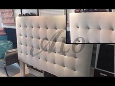 DIY: CRYSTAL TUFTED FURNITURE PIECE AS A BACKDROP. FELICIA M. - ALOWORLD - YouTube