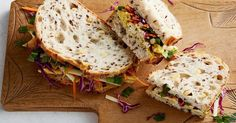 The canteen won't stand a chance next to this curried chicken and apple slaw sandwich.