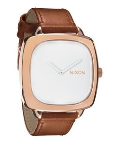 Our unique Nixon women's watches range from dainty and modern to contemporary and classic. Shop online today for your favorite women's Nixon watch. Brown Leather Watch, Outdoor Fashion, Modern Gentleman, Mens Fall, Watches For Men, Nixon Watches, Krystal, Autumn Fashion, Fashion Accessories