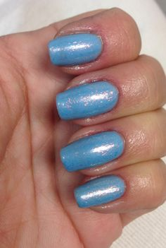 Cnd azure wish with flakies