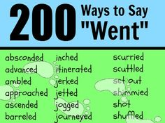 """Helps students reduce cliche language with these 600 """"other ways to say."""""""