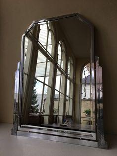 spiegel-art-deco-badkamer-douche-Frans-chroom-www.toonkamerwebshop ...