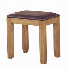 Westbury Oak Stool has classically-styled metal handles, which offset the light oak timbers beautifully. #Furniture #BedroomFurniture #OakStool http://pricecrashfurniture.co.uk/westbury-oak-stool.html