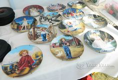 Shirley Temple decorative plates - LOCATION: Beaver Lick, KY, 2mi south of Union, KY on Highway 127.