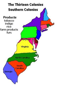 Map Of Early Colonies In US Yahoo Image Search Results Manitou - Map of us 13 colonies