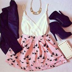necklace skater skirt: Shop for necklace skater skirt on Wheretoget