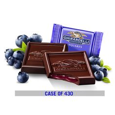 GHIRARDELLI Dark Chocolate Blueberry Squares 430 COUNT! $149.99 - FREE SHIPPING