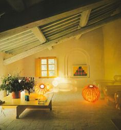 Houses Architects Live In  1970s Interior Design | Seventies | Pinterest |  Shape, Interiors and Art