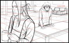 Dibujando en perspectiva (3): Volumen y profundidad | Blog Concurso Manga