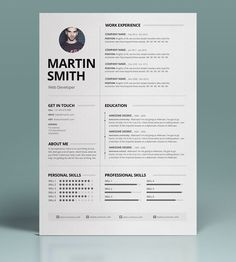 How To Make A Cover Letter For A Resume Resume Template & Cover Letterresumestudio On Creativemarket .