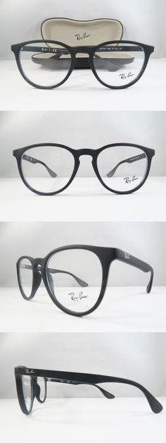 f5fcae5137c8 Eyeglass Frames  Ray-Ban Rb 7046 5364 Matte Rubber Black New Authentic  Eyeglasses 51Mm