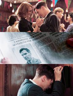 Ben as Alan Turing- I haven't seen this movie, but I read the summary and I don't know if I will be able to see it without sobbing.