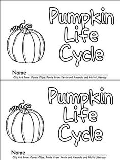 This emergent reader little book will help young students practice early reading skills, while learning about the life cycle of a pumpkin!! Throughout the book, students learn about the life cycle of a pumpkin. The following vocabulary words are included: seed, sprout, vine, flower, green pumpkin, grow, orange pumpkin, and pumpkin pie.