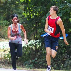 Outrun the zombies in the Pocono Reaper's Revenge Run in the Poconos at Promised Land State Park on Sunday, September 18th! #PoconoMtns