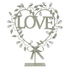 Love in Heart with Jewels - Dunelm Mill