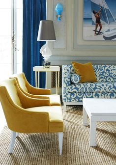 Jonathan Adler, Spring 2015 - Inspiration for my New York Flat board. For more colourful inspiration for my board on Pinterest and follow my blog http://thehappyflat.com