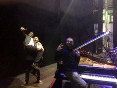 Napoli || La Musica Insieme Tour 2015. Stefano Di Battista, Nicky Nicolai, Erri De Luca.     Roberto Pistolesi - BATTERIA Andrea Rea - PIAN0 Daniele Sorrentino - CONTRABBASSO