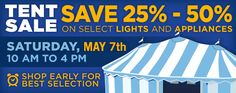 The Annual Yale Tent Sale is Saturday May 7th, 2016