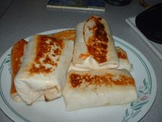 Breakfast Burritos - make these in bulk and freeze.  This will save you loads of time and money. Just pull one out of the freezer, warm up and enjoy.  :)