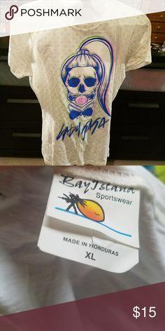 Hot Topic Lady Gaga Polka Dot Shirt