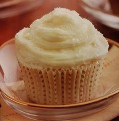 Cupcakes Blanca Navidad rellenos