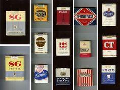 Old cigarette brands - Portugal Vintage Cigarette Ads, Cigarette Brands, Kentucky, Photo Packages, Vintage Graphic Design, Old Ads, My Memory, Historical Photos, Vintage Advertisements