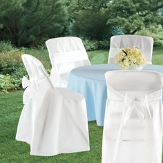 black chair covers party city walmart folding chairs and tables 74 best white wedding ideas images silhouette cameo 4ct the look of cloth easton