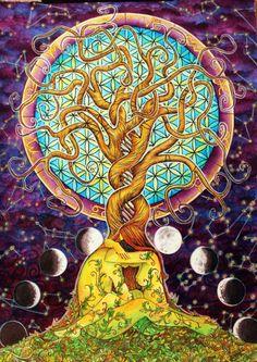 Siamo tutte le cellule del corpo stesso dell'umanità.