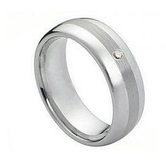 8MM Men Women Wedding Engagement Anniversary by BlueAppleJewelry
