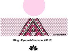 peyote ring pattern,PDF-Download, #181R, beading pattern, beading tutorials, ring pattern