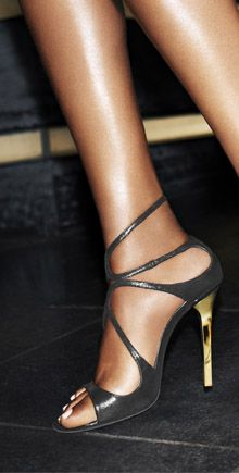 Lance by Jimmy Choo. Such an elegant look....