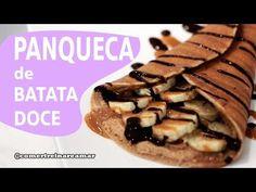 Panqueca de Batata Doce - Comer, Treinar e Amar - YouTube