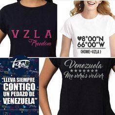 #Venezuela de mis amores  Hermosas #Franelas disponibles en la galería de  @tr3bolclothing  no dejes de conocer su nueva colección IG: @tr3bolclothing Contacto vía  Tr3bolcloting@gmail.com .  DIRECTORIO MMODA  #Tendencias con sello Venezolano  #DirectorioMModa #MModaVenezuela  #HechoenVenezuela #DiseñoVenezolano #Venezuela #Caracas #Valencia #Moda #Miami #Venezolanosenmiami #Panama #ootd