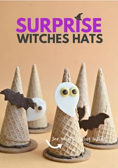Surprise Witches Hats
