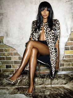 leahcultice:  Naomi Campbell by Nico for Vanity Fair Spain November 2014