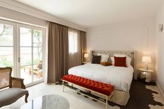 Stay at a luxurious five-star retreat with a spa, gourmet dining and stunning style in the heart of France's Luberon – includes breakfast, spa access, treatment discount and Hotel Spa, Provence, Luxury, Bed, Suites, Furniture, Design, Home Decor, Patio