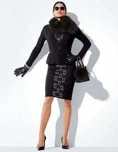 Knitted blazer   Madeleine Fashion