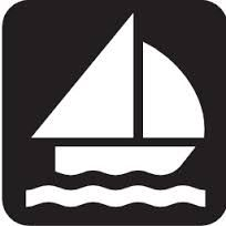 Free Image on Pixabay - Sailing, Sailing Boat, Catboat Free Pictures, Free Images, Map Symbols, Camping Crafts, Water Crafts, Public Domain, Online Art, Vector Free, Sewing Projects