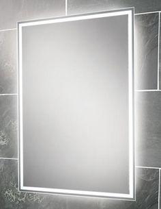 Image Of Hib Ella Landscape Led Back Lit Mirror 700 X 500mm 64154495
