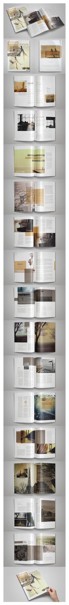 free Indesign Magazine Template