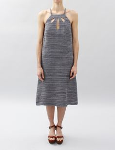 Rachel Comey Teardrop Dress, from Creatures of Comfort, $426, love the neckline and dainty (also sexy) cut-outs.