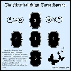 the mystical sign tarot spread