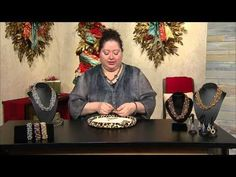 "DIY Christmas Beaded choker with Superduo beads - ""Reina"" beading tutorial - YouTube"