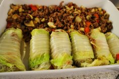 Fresh Rolls, Tapas, Food And Drink, Homemade, Meat, Ethnic Recipes, Red Peppers, Home Made, Hand Made