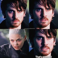 This scene demonstrated the biggest difference between Killian and Rumple as the Dark Ones and it all comes down to what they did with their power. Both loved the darkness and the power it gave them, but Killian gave it all up to save the woman he loved. The love of power had nothing on his love for Emma. He was willing to sacrifice everything to save her. That's why he is a hero and why Rumple will never be one. He redeemed himself; Rumple, on the other hand, has condemned himself once more…