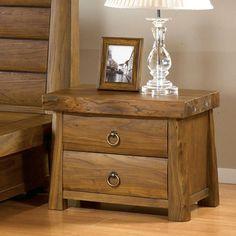 [South Korea] bedroom furniture exports old elm nightstand drawer fashion Korean side table bedside cabinet lockers