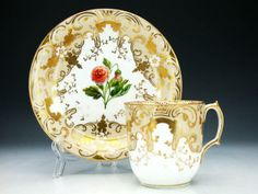 Coalport tea cup 1848