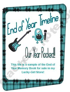 End of Year Timeline